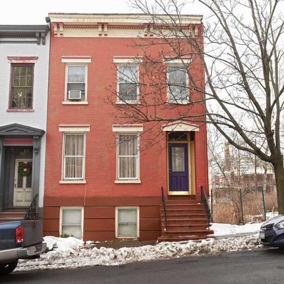 home of Albany mayor in a low-opportunity neighborhood